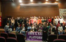 Şanlıurfa Şubemiz 25 Kasım Eylem Etkinliklerine Katılım Sağladı