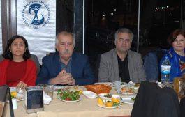 Adana Şubemiz Yüreğir Devlet Hastanesi ve Ekrem Tok Ruh Sağlığı Hastanesi'ndeki Üyelerimizle Yemekte Buluştu