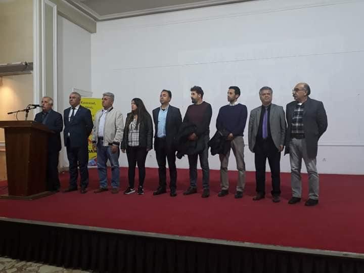 KESK Adana Şubeler Platformu'ndan KESK'in 24. Yılı Etkinlikleri