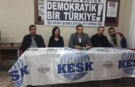 KESK Hatay Şubeler Platformu: Halk İçin Bütçe, Demokratik Bir Türkiye İstiyoruz