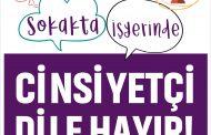 Evde, Sokakta, Sendikada, İş Yerinde Cinsiyetçi Dile Hayır!