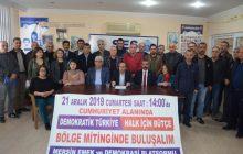 KESK Mersin Şubeler Platformu'ndan 21 Aralık Demokratik Türkiye, Halk İçin Bütçe Mersin Bölge Mitingine Çağrı