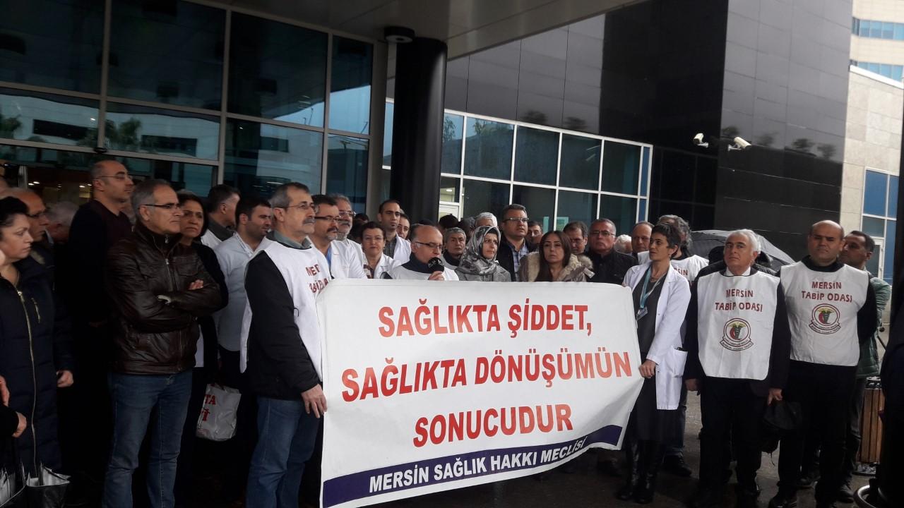 Mersin Sağlık Hakkı Meclisi: Sağlıkta Şiddet Sona Erene Dek Mücadelemizi Sürdüreceğiz