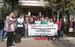 İstanbul Şişli Şubemiz: Edep ve Ahlak Anlayışınıza da İhtiyacımız Yok, Tek Tipleştiren Formaya da. GİY-ME-YE-CE-ĞİZ!