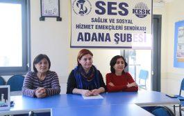 Adana Şubemizden İstanbul İl Sağlık Müdürlüğü'nün Kıyafet Genelgesine Tepki