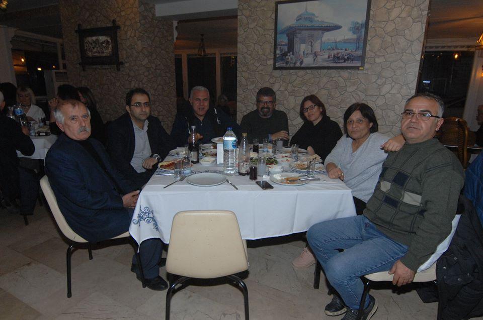 Adana Şubemiz Balcalı Hastanesi'ndeki Üyelerimizle Yemekte Buluştu