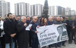 Hrant Dink Katledilişinin 13. Yılında Adana'da Anıldı