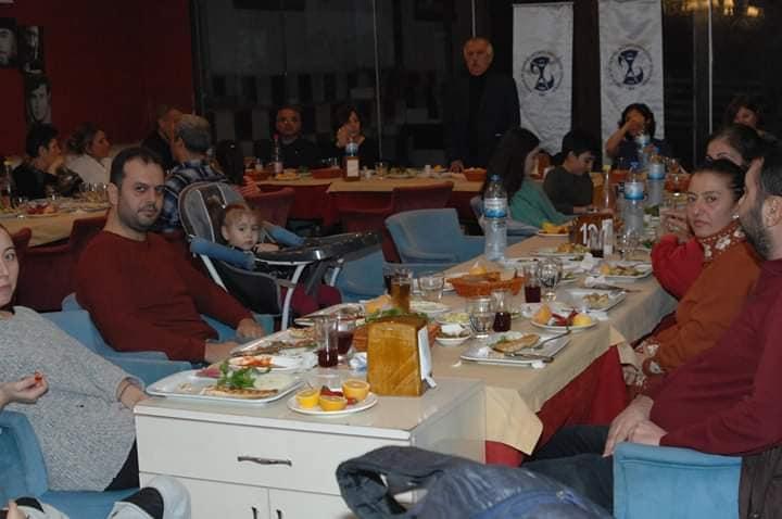 Adana Şubemiz 1. Basamakta Çalışan Üyelerimizle Yemekte Buluştu