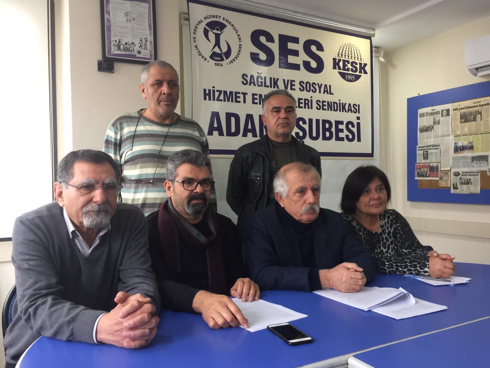 Adana Şubemiz: Sorunlarımızı Mücadele ve Dayanışma İle Çözeceğiz