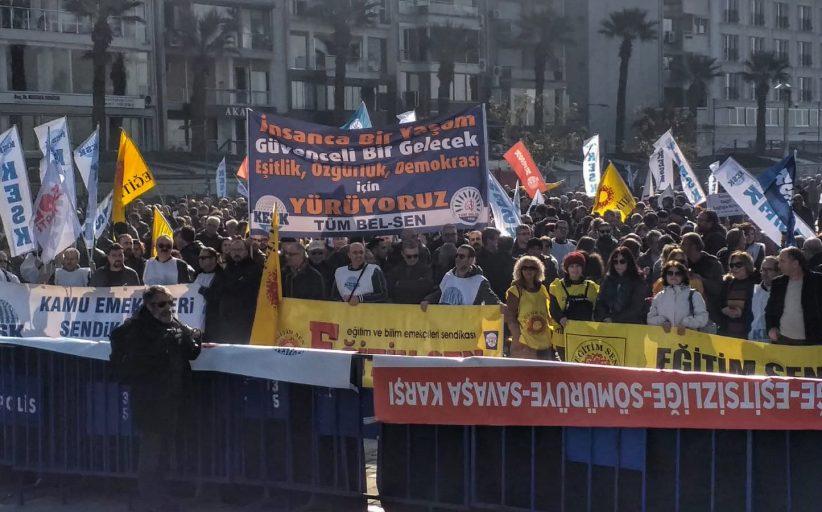 """""""İnsanca Bir Yaşam, Demokratik Bir Türkiye İstiyoruz!"""" İzmir Mitingimizde Onbinlerle Bir Aradaydık!"""