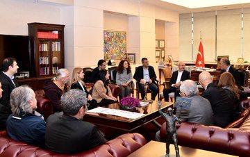 Sağlık Meslek Örgütü Temsilcileri Kılıçdaroğlu'nu 15 Mart'ta Gerçekleştirilecek Beyaz Miting'e Davet Etti