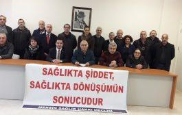 Mersin Sağlık Hakkı Meclisi Sağlıkta Şiddete Karşı İş Bırakma Eylemine Çağrı Yaptı