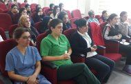 İstanbul Aksaray Şubemiz Eyüpsultan Hastanesi'nde Kadına Yönelik Şiddetle İlgili Söyleşi Düzenledi
