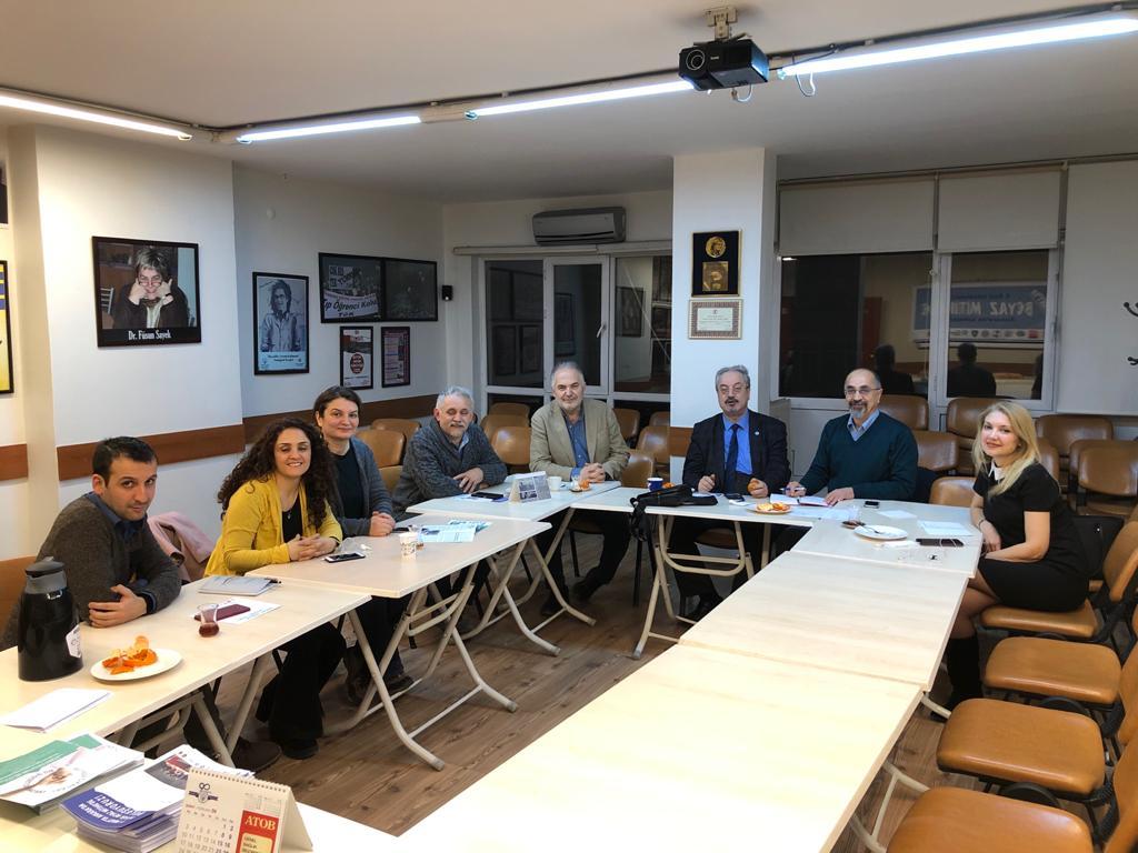 Sağlık Emek ve Meslek Örgütleri 15 Mart Ankara Büyük Beyaz Mitingi Hazırlıkları İçin Bir Araya Geldi