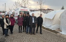 KESK Heyeti Elazığ'da Depremzedeleri ve Sağlık Emekçilerini Ziyaret Etti