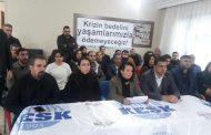 Hatay Emek ve Demokrasi Güçleri: Krizin Bedelini Yaşamlarımızla Ödemeyeceğiz