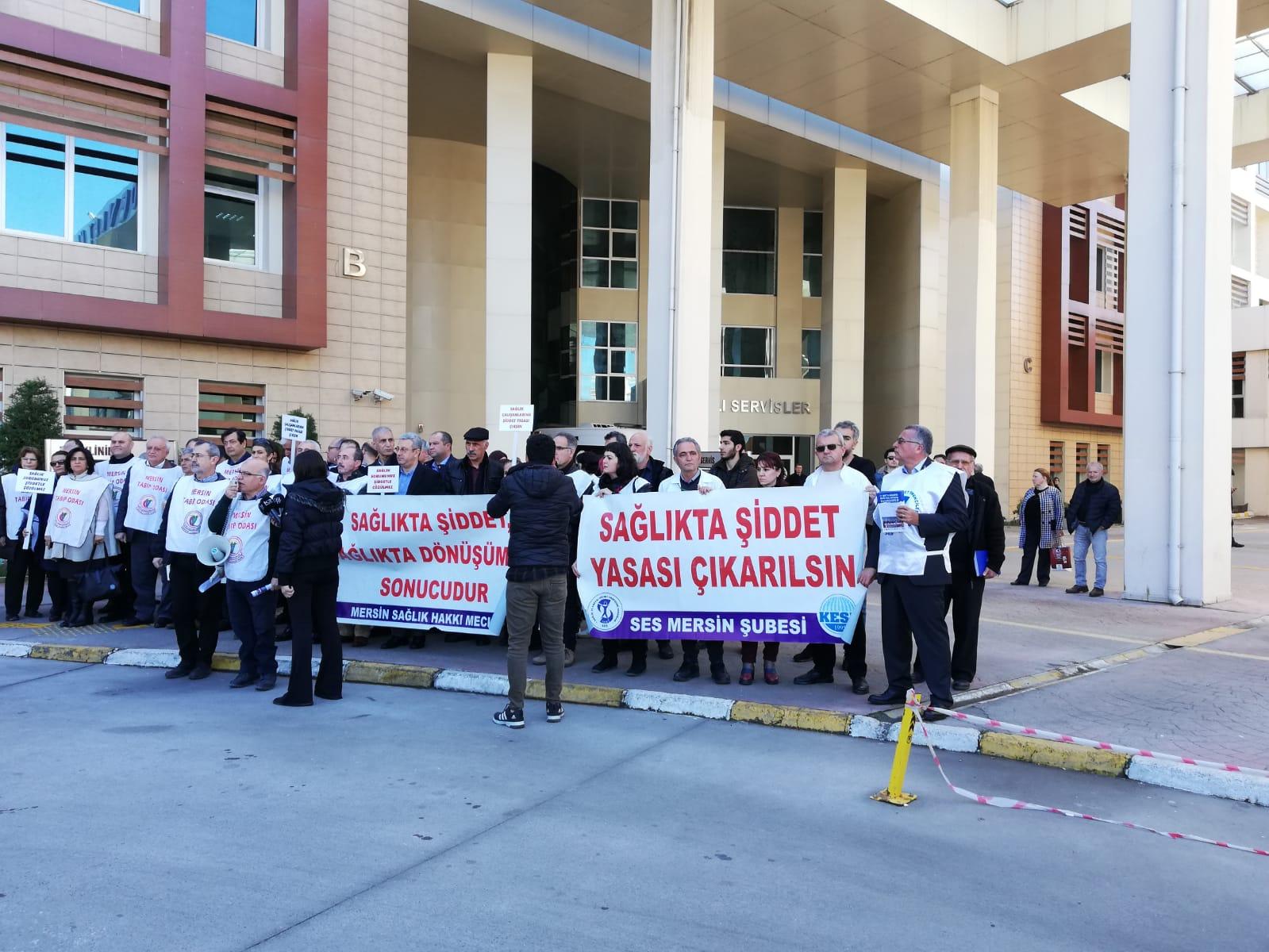 Mersin Sağlık Hakkı Meclisi: 15 Mart'ta Beyaz Miting'de Buluşuyoruz