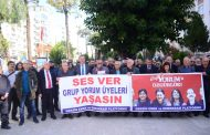 Mersin Emek ve Demokrasi Platformu: Ses Ver, Grup Yorum Üyeleri Yaşasın