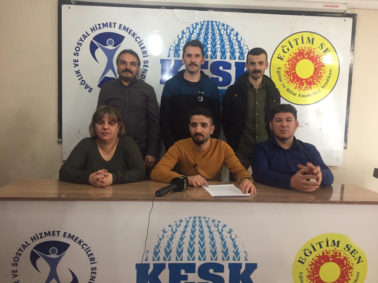 KESK Van Şubeler Platformu Başkale Deprem Raporunu Açıkladı