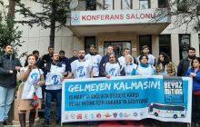İstanbul Sağlık Örgütleri: 15 Mart'ta Sağlıkta Şiddete Karşı Beyaz Miting İçin Ankara'ya Gidiyoruz! Gelmeyen Kalmasın!