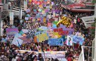 Kadınlar 8 Mart'ta Alanları Doldurdu