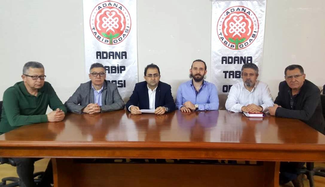 Adana Şubemiz ve Adana Tabip Odası'ndan Sağlık Bakanlığı'na çağrı: Sağlık çalışanlarının koruyucu ekipmanlarındaki eksiklikler hızla giderilmelidir