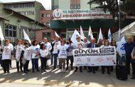 Antalya Sağlık Örgütleri Beyaz Miting'e Çağrı Yaptı