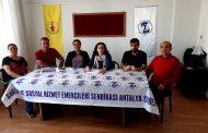 Antalya Şubemiz: Sağlık Emekçilerinin Sesini Duyun, Yaşamsal Taleplerini Karşılayın