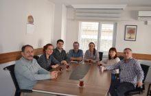 EPSU Yöneticileri Sendikamızı Ziyaret Etti