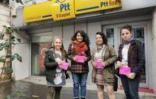 Hatay Şubemiz Tutuklu KESK'li Kadınlara Kart Gönderdi