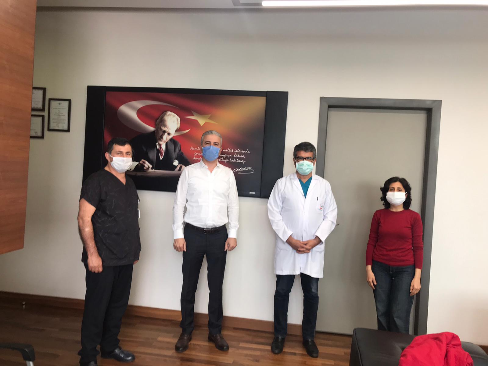 Adana Şubemiz Şehir Hastanesi Başhekimiyle Görüştü