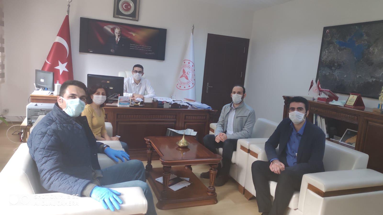 Adana Şubemiz Adana Kamu Hastaneleri Başkanı İle Görüştü