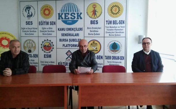 Bursa Şubemiz Covid-19 Salgınına Karşı Sağlık Emekçilerinin Taleplerini Açıkladı