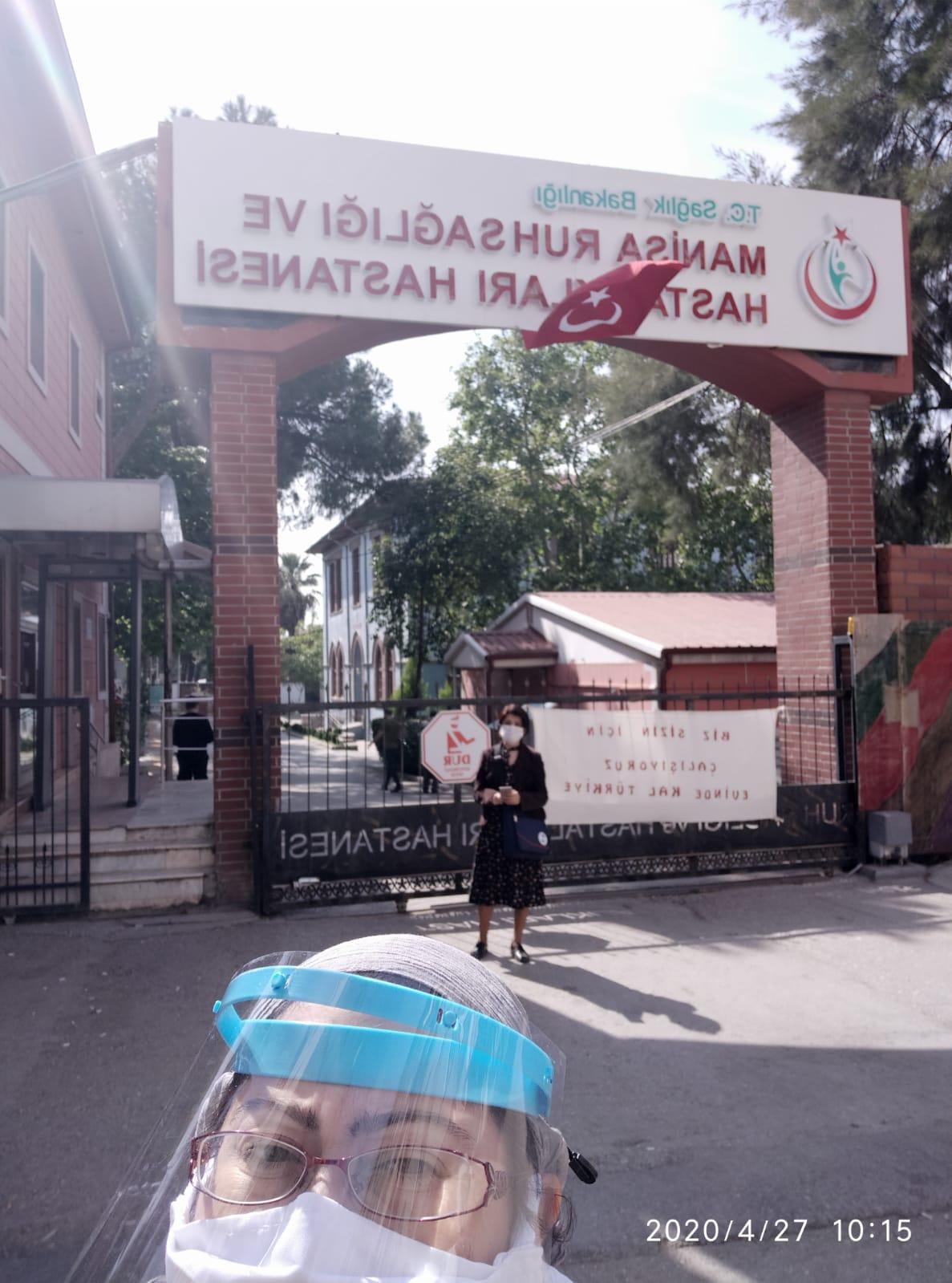 Manisa Ruh Sağlığı ve Hastalıkları Hastanesi Başhekimi Üyelerimizi Ziyarete Giden Şube Yöneticilerimizi Hastaneye Almadı