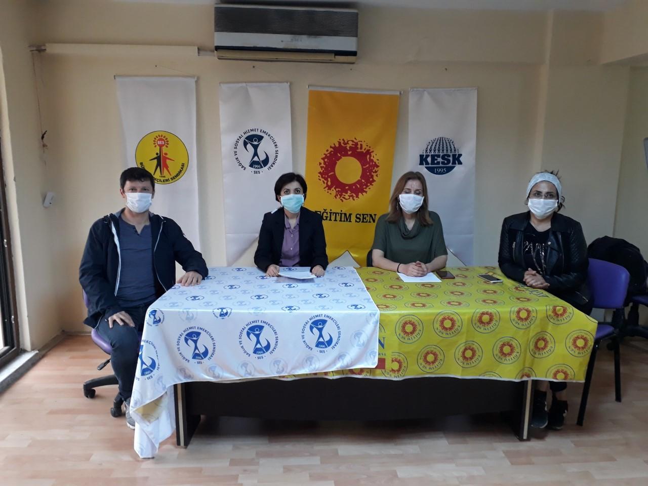 KESK Manisa Şubeler Platformu: Ayrımcı, Kadın ve Çocuk Düşmanı İnfaz Yasası'nı Kabul Etmiyoruz!