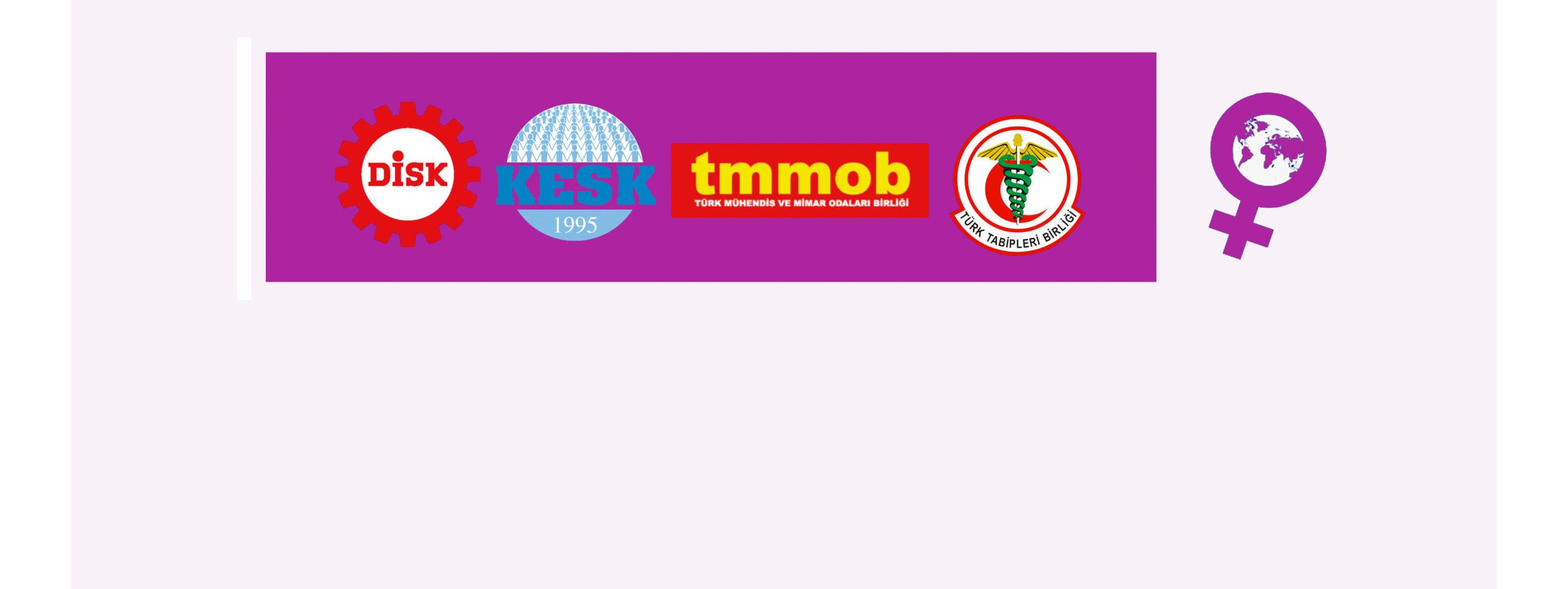 DİSK, KESK, TMMOB ve TTB Kadın Temsilcileri: Çocuk Hakları Sözleşmesi'nin Uygulanması Devletin ve Toplumun Sorumluluğudur! Çocuk Hakkı İhlalleri Son Bulsun!