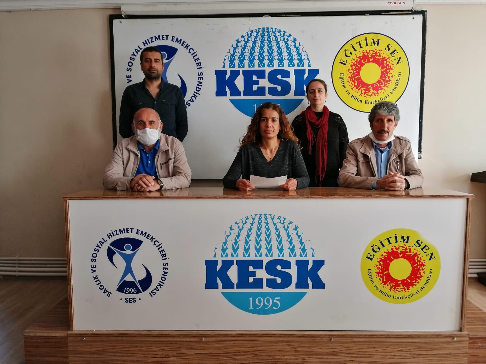 KESK Van Şubeler Platformu Covid-19 Raporunu Açıkladı