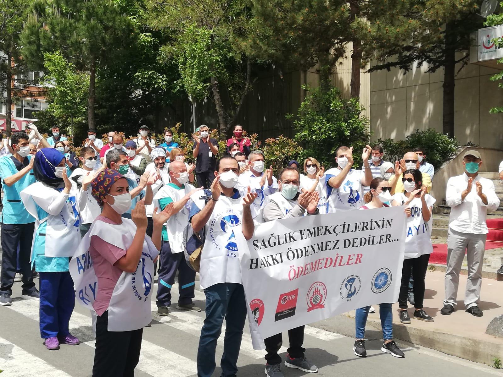 İstanbul Şubelerimiz, İstanbul Tabip Odası, İstanbul Diş Hekimleri Odası, Dev Sağlık-İş ve Tüm Radyoloji Teknisyenleri ve Teknikerleri Derneği'nden Temel Ücret Artışı Dilekçesi