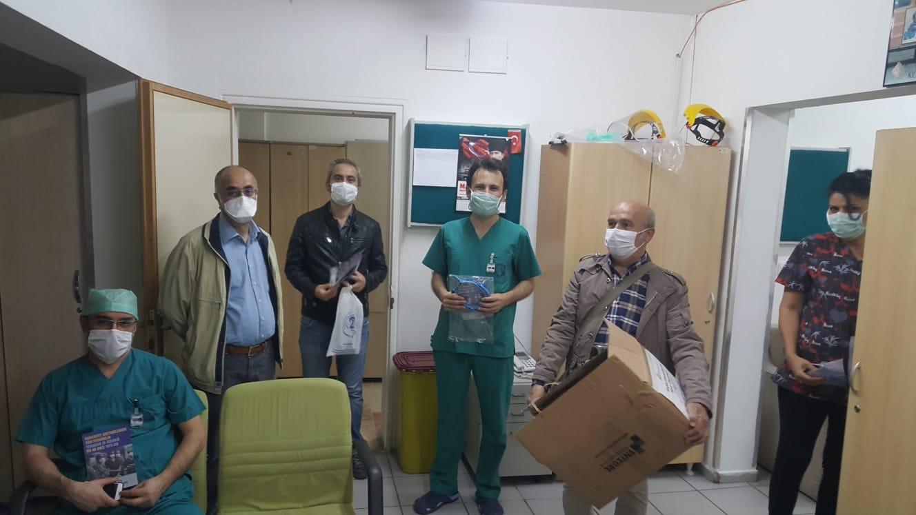 Ankara Şubemiz Hastaneleri Ziyaret Ederek Broşür Dağıttı