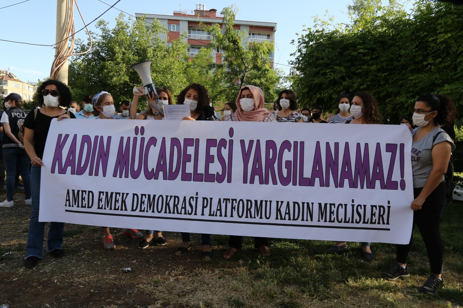 Amed Emek ve Demokrasi Platformu Kadın Meclisleri: Kadın Mücadelesi Yargılanamaz