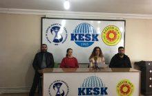 KESK Van Şubeler Platformu 1 Mayıs Pankartının Yasaklanmasına Tepki Gösterdi