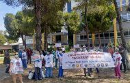 Dokuz Eylül Üniversitesi Hastanesi'nde Eylemler Devam Ediyor