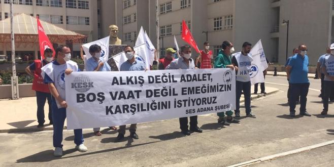 Adana Şubemiz: Sağlığımızdan da Haklarımızdan da Vazgeçmeyeceğiz