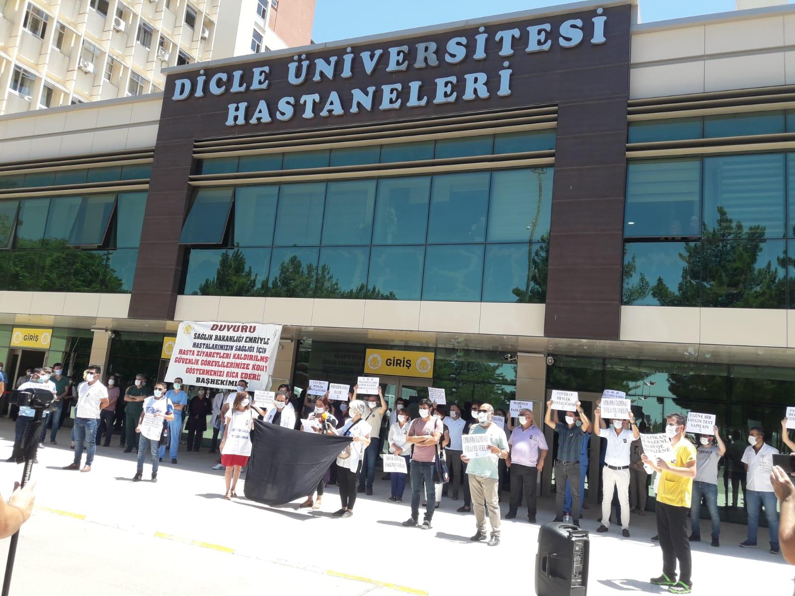 Diyarbakır Sağlık Platformu: Bu Çalışma Düzeni Sağlıkta İntiharları Artırıyor