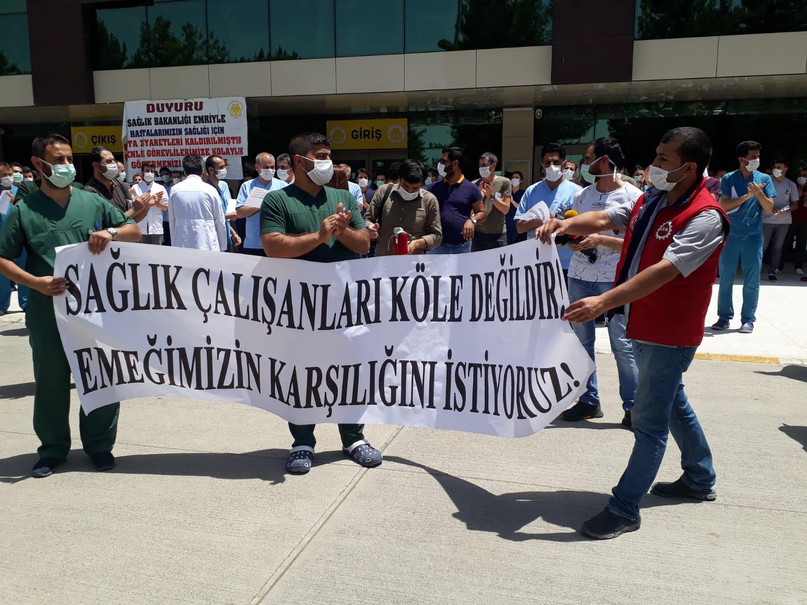 Diyarbakır: Pandemi ile Mücadelede Ayrımcılık Olmaz! Sağlık Hizmeti Ekip İşidir