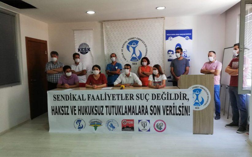 Diyarbakır: Sendikal Faaliyetler Suç Değildir, Recep Oruç Derhal Serbest Bırakılsın