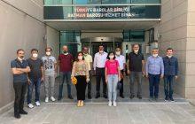 Batman Demokrasi Platformu'ndan Baroya Dayanışma Ziyareti
