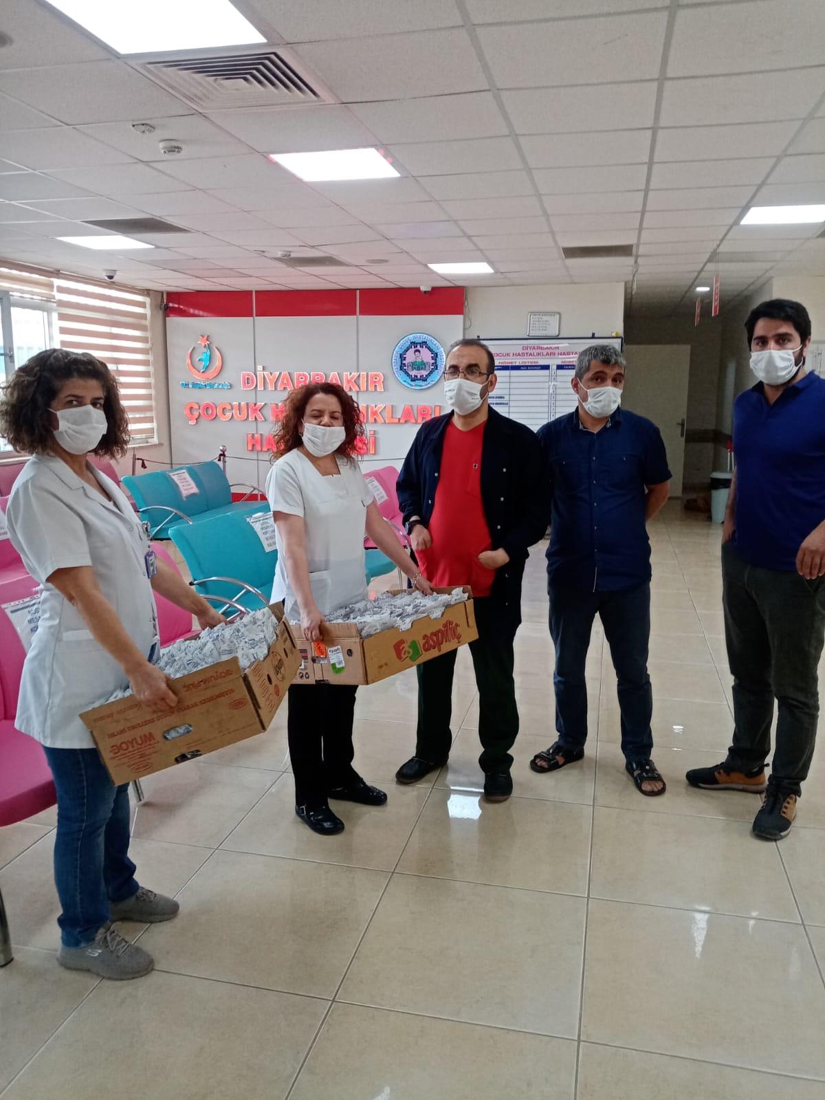 Diyarbakır Şubemizden Yemekhane Boykotu