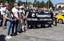 Sivas Demokrasi Bileşenleri: 2 Temmuz'u Unutmadık, Unutmayacağız