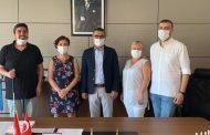 Şişli Şubemiz İstanbul Büyükşehir Belediyesi Sağlık Daire Başkanı İle Görüştü